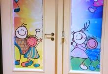 deur-ramen-raamfolie-bedrukt-school-voorkant-220x150